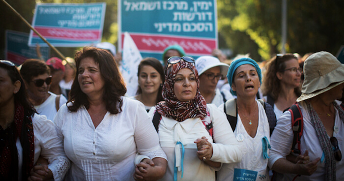 The Women Wage Peace march