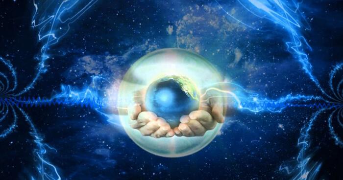 A cosmic vibration, a sound, a creator