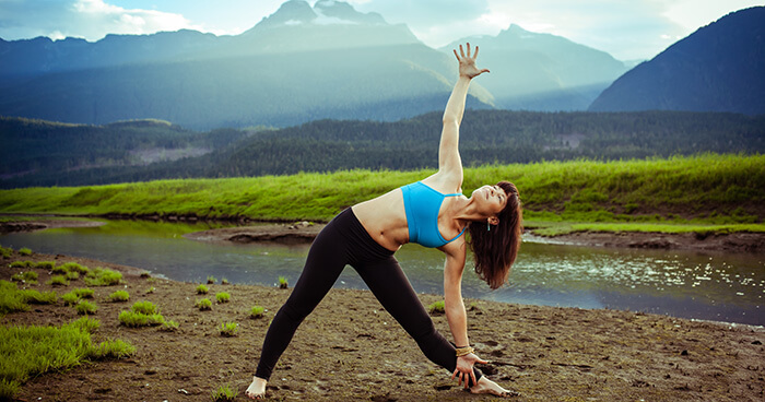 You can have the perfect Trikonasana posture and be filled with pride.
