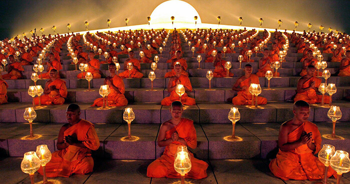 The entire Buddhist teachings (dharma) are about lessening one's self-absorption, one's ego-clinging.