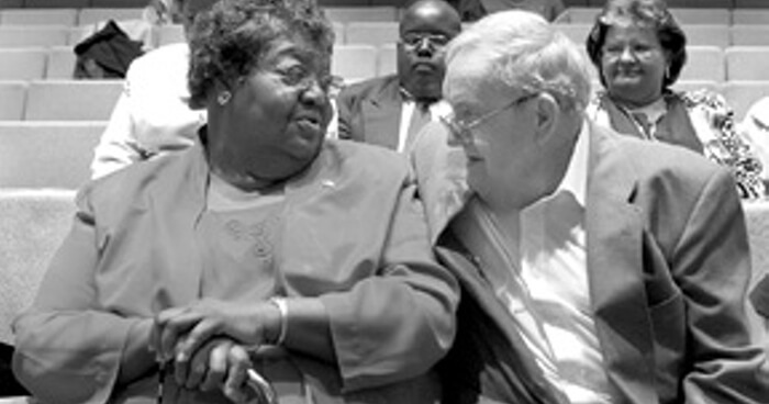 Ann Atwater and C.P. Ellis show how empathy can overcome hatred and change our minds.