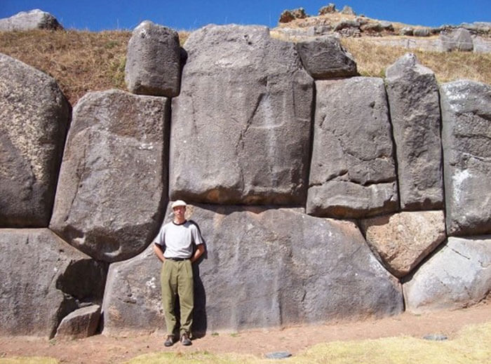The giant stone remnants of Sacsayhuaman