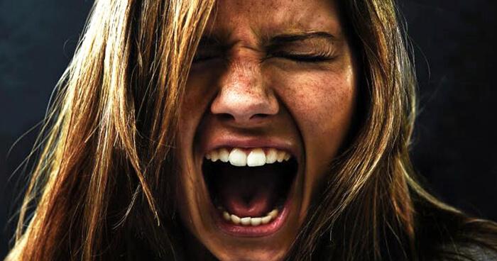 Anger eats you up inside