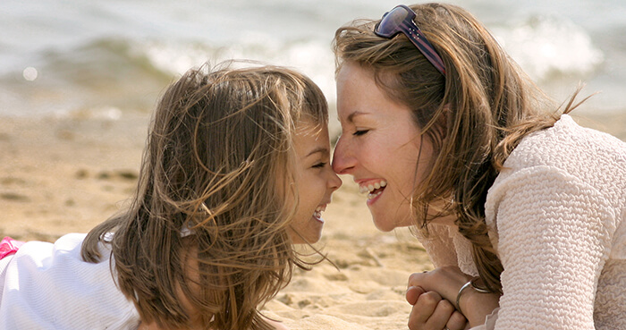 Parents teach their children standards of behaviour that they must follow to receive love.