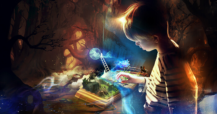 Imagination is one of the great gifts of being human.