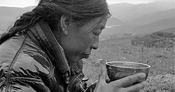 Yak butter tea has long been a source of daily fuel for people living in the mountain villages of the Himalayas.