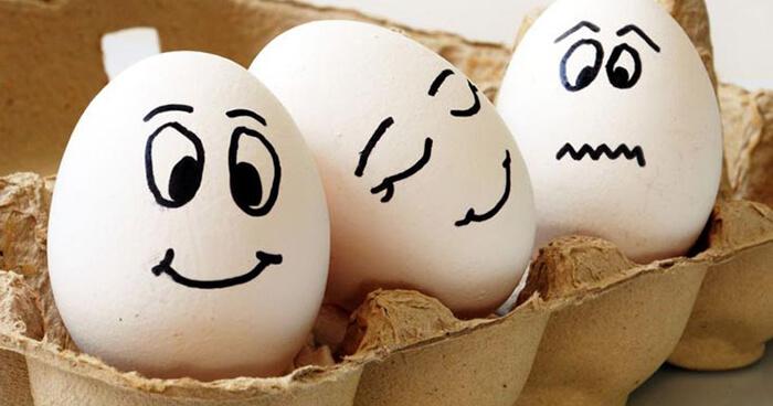 Three Guna eggs