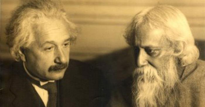 Einstein and Tagore