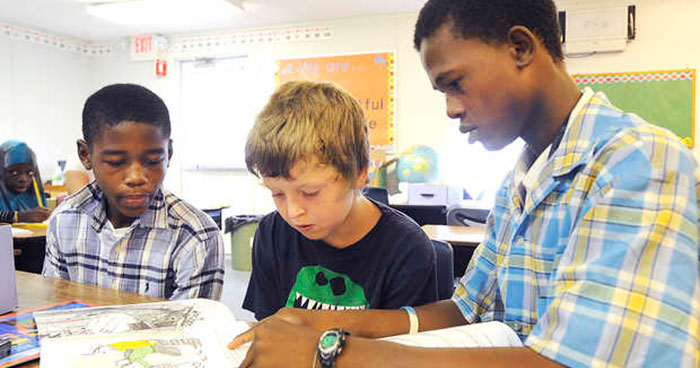 Helping students help each other