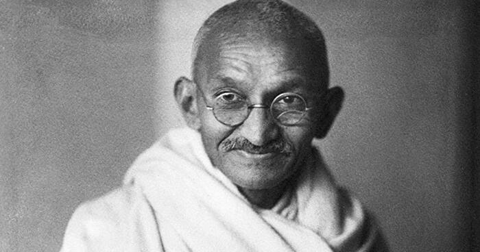 Gandhi said good sanitation was more important than independence.