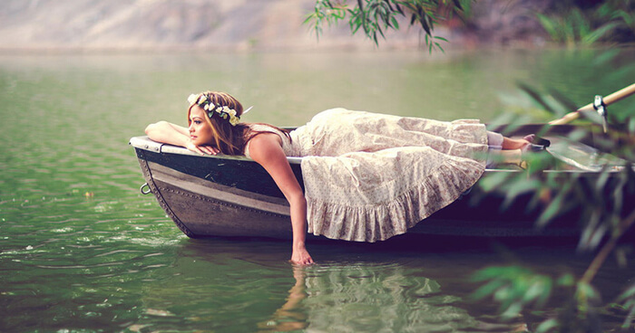 The Mature Feminine is being with the stillness