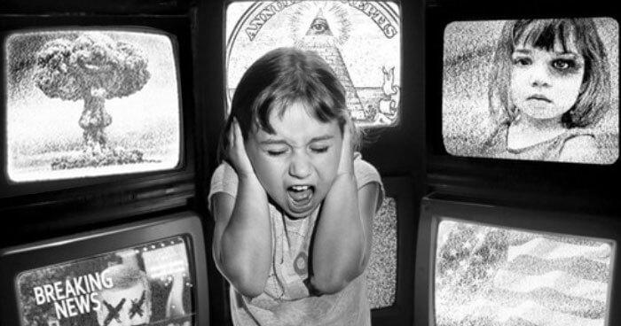 Child TV Fear
