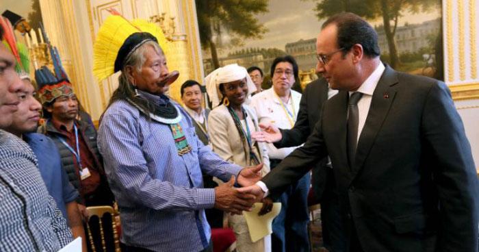Chief Raoni Paris COP21