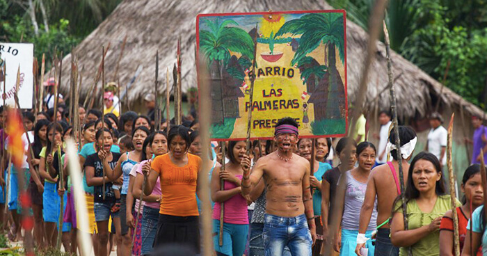 Indigenous Peruvians fighting for their heritage