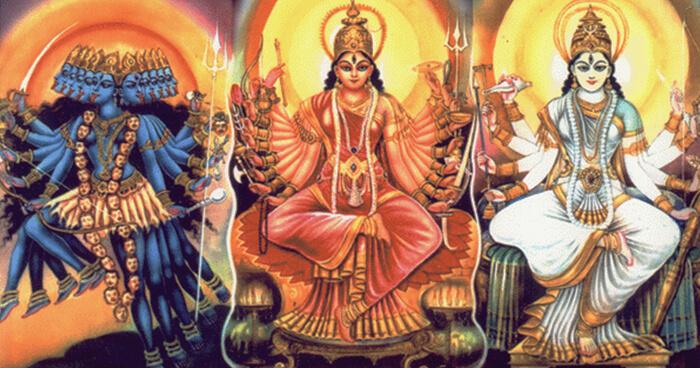Kali Lakshmi Sarasvati