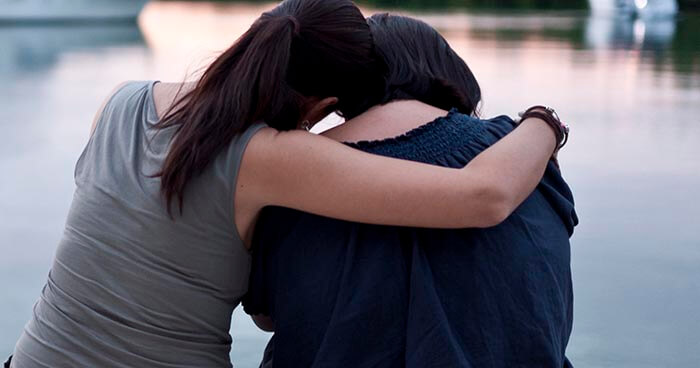 Our friends and other loved ones need our comfort, support, and involvement during times of sorrow.