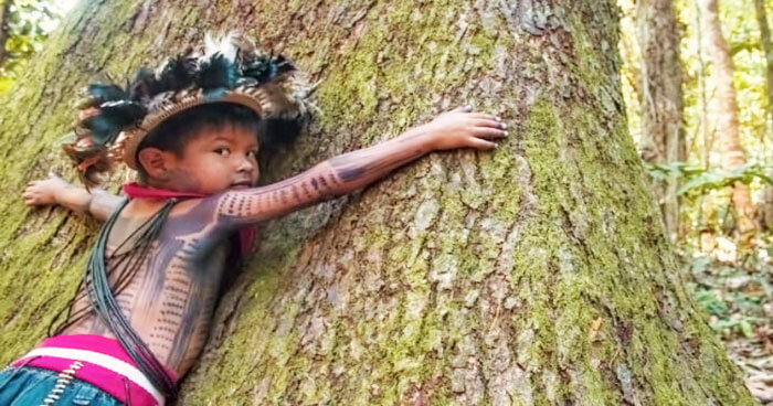 Indigenous people are raised to love and protect the Earth