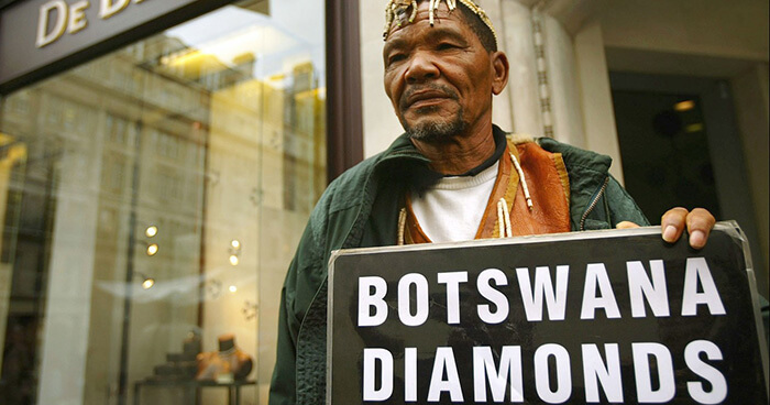 Bushman activist