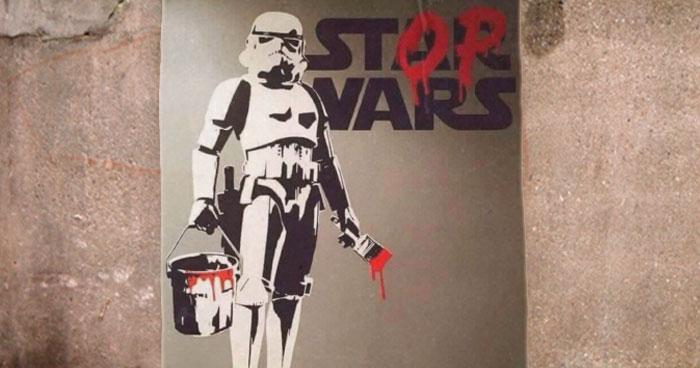 Stormtrooper Stop Wars