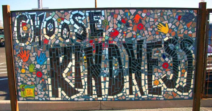 Kindness Mosaic in Tucson, Arizona