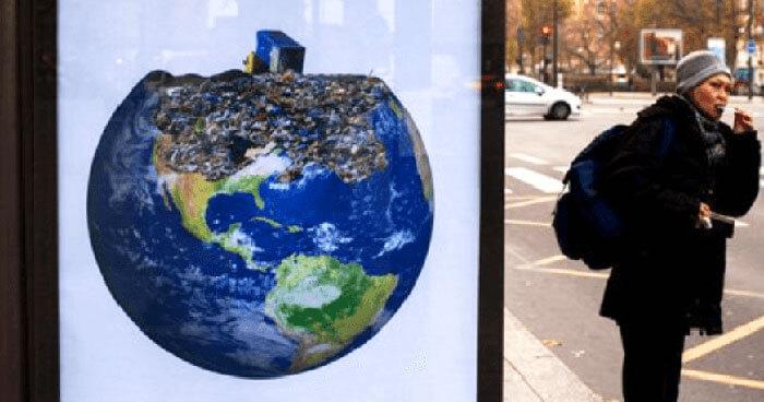 Brandalism at the Paris Climate Talks