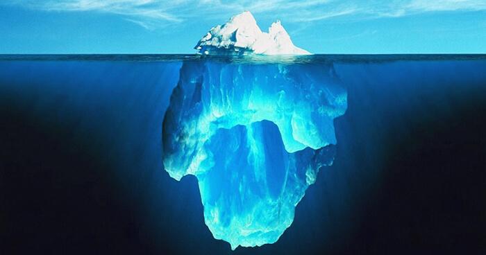 Symptoms: tip of the iceberg