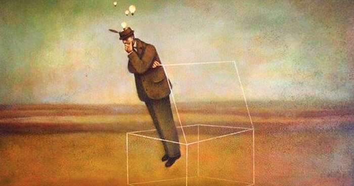 ADHD people think outside the box