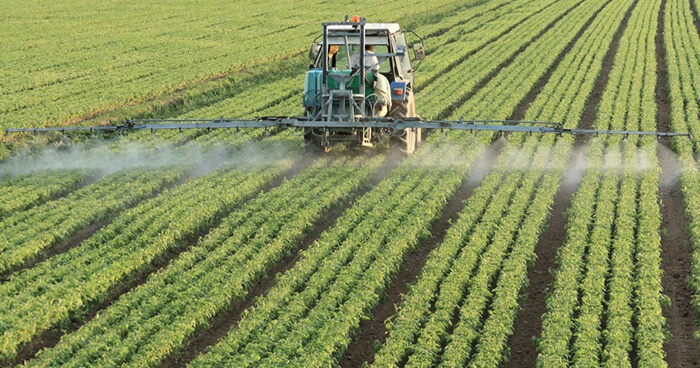 Pecticides and fertilizers degrade soil