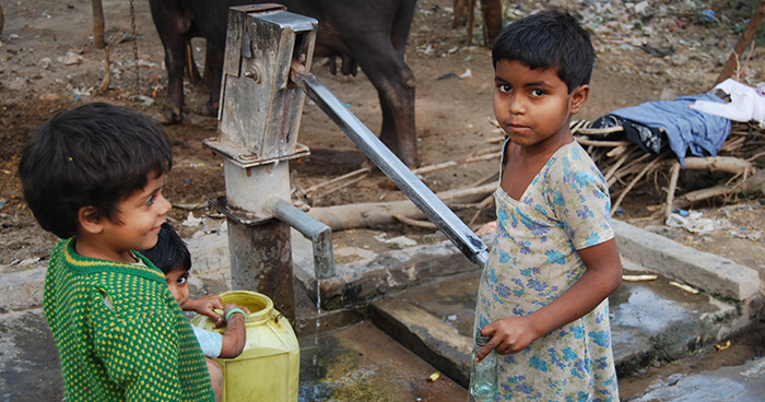 Inadequate WASH (Water, Sanitation and Hygiene) is creating a situation in which our definition of peace needs to expand.