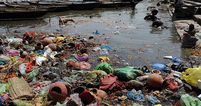 Abuse of waterways