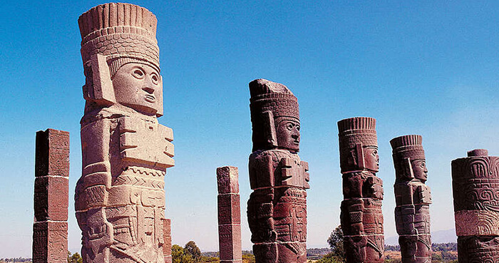 The Toltecs were a civilisation of Mexico thousands of years ago.