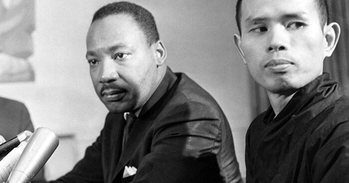 Thich Nhat Hanh and Dr. Martin Luther King Jr.