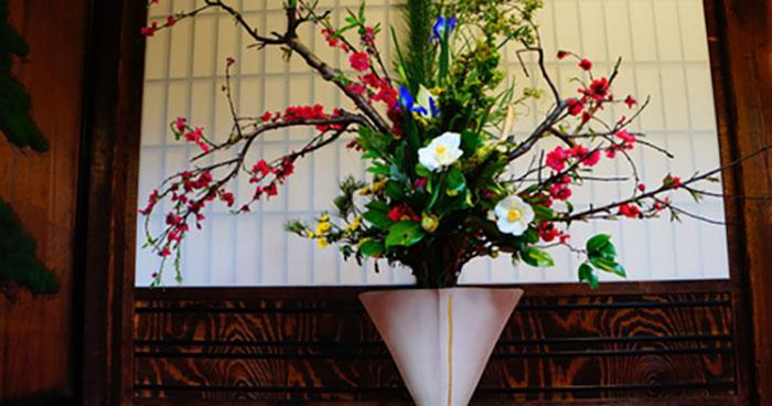 Zen Flower Arrangement