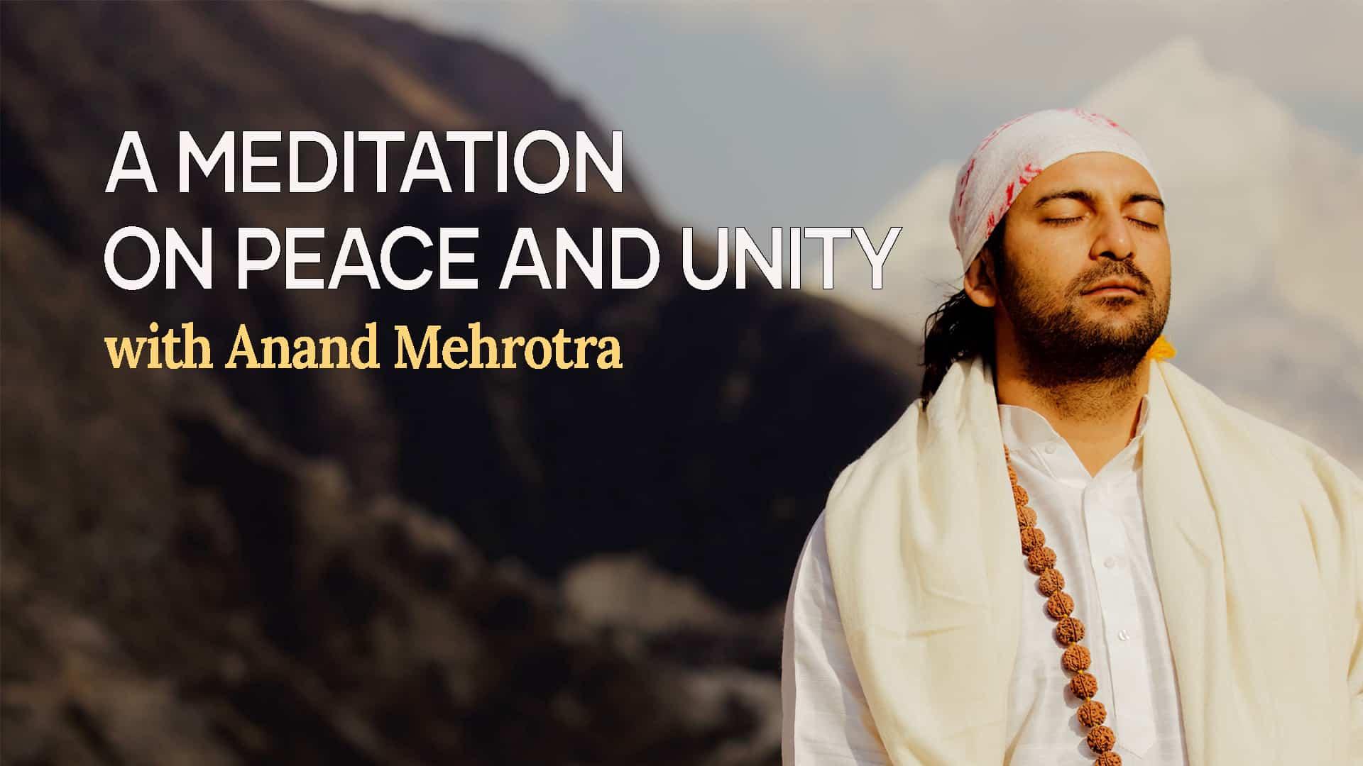 Anand Mehrotra Meditation