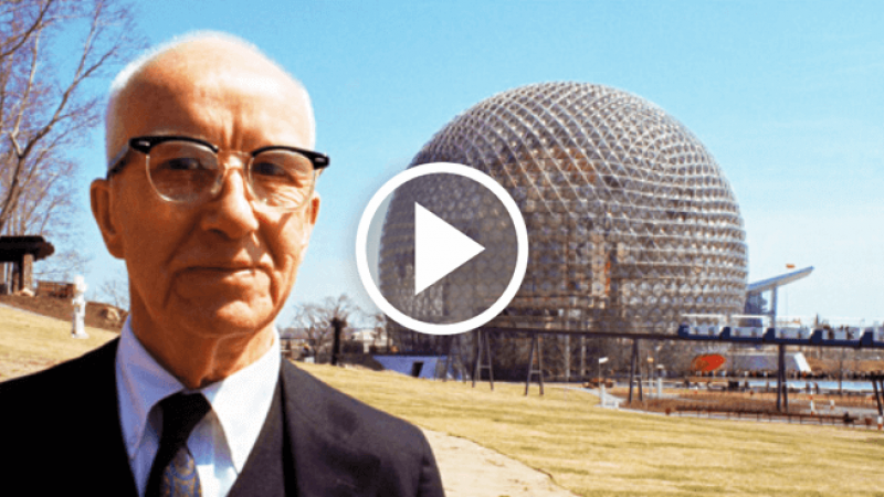 The genius of Buckminster Fuller